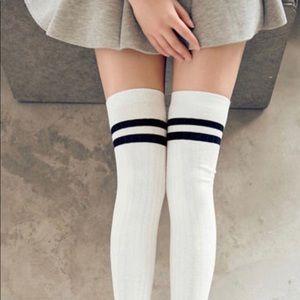 Above the knee socks